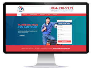 plumbing website and online marketing